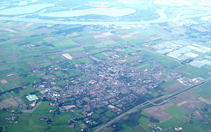 Drimmelen - Aerial photo of Made