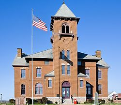 Madison County Missouri Courthouse at Fredericktown, MO USA.jpg