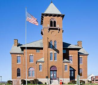 Madison County, Missouri - Image: Madison County Missouri Courthouse at Fredericktown, MO USA