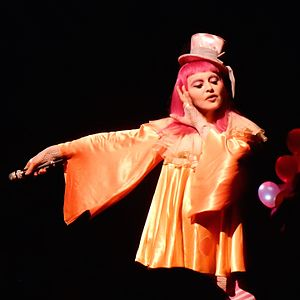 Drowned World/Substitute for Love - Madonna performing the song during her Tears of a Clown concert in Melbourne, Australia on March 2016.