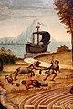 Maestro dei cassoni campana, teseo e il minotauro, 1510-15 ca. (avignone, petit palais) 07 centauro assale naviganti.jpg