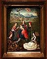 Maestro della leggenda di santa lucia, madonna e sante in un roseto, 1475-80 ca.jpg