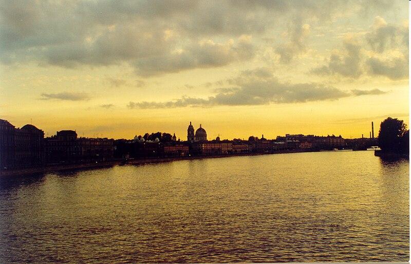 File:Magic Sankt Petersburg - White Nights (Weisse Nächte) Midnight Light 5.jpg