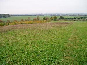 Gog Magog Hills - The view towards Cambridge from Magog Down