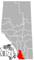 Magrath, Alberta Location.png