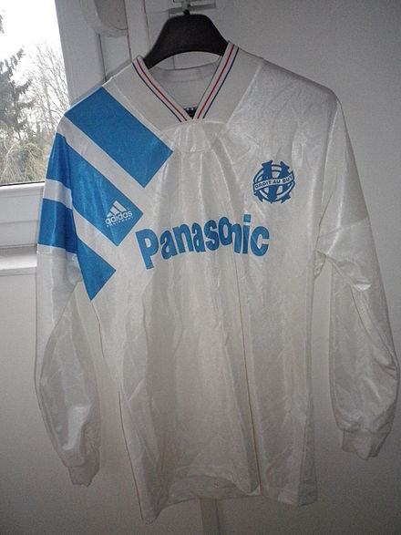 Jersey 1993, Marseille is the new european champion - Olympique de Marseille