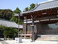 Main hall and priest's quarters in a temple in Tsu City, Mie Prefecture, Japan.jpg