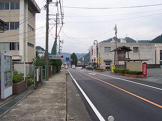 Mimasaka, Okayama City in Chūgoku, Japan