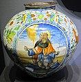 Maiolica di venezia, bottega di mastro domenico, orciolo, 1550-75 ca., collez. privata.JPG