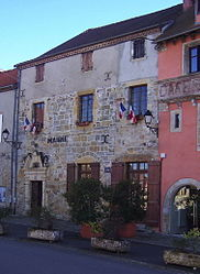 The town hall in Capdenac
