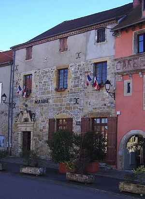 Capdenac - The town hall in Capdenac