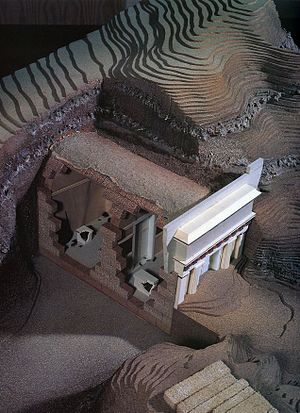 Vergina - Model of Philip II's tomb