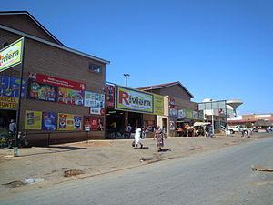 Malalane - A street in Malalane