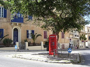 Sliema - British phone-box