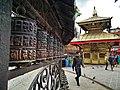 Mani (Prayer Wheels) around Shyambhunath.jpg