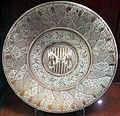 Manises, piatto con stemma d'aragona-sicilia, 1486-1516 ca. 01.JPG