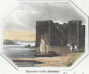 Mannerbeer Castle. Flintshire