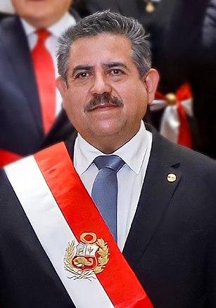 Manuel Merino Former president of Peru