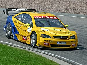 Phoenix Racing (German racing team) - Image: Manuel Reuter DTM(Th Kraft)