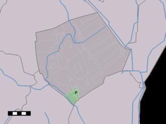 Klijndijk - Image: Map NL Borger Odoorn Klijndijk