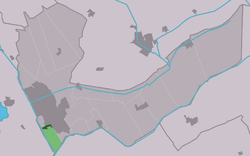 Location in the Heerenveen municipality