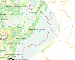 Chamonix Cartina Geografica.Chamonix Mont Blanc Wikipedia