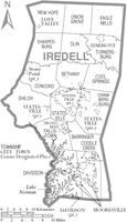 Union Grove Township in Iredell County