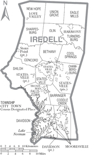 Turnersburg Township, Iredell County, North Carolina Township in North Carolina, United States