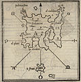 Map of Lemnos and Agios Efstratios islands - Bordone Benedetto - 1547.jpg