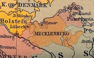 Duchy of Mecklenburg-Schwerin - Mecklenburg-Schwerin