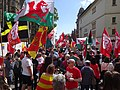 March for Welsh Independence arranged by AUOB Cymru First national march; Wales, Europe 20.jpg