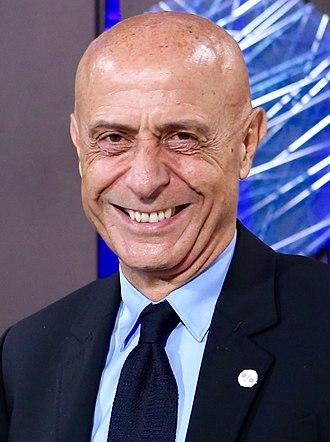 Marco Minniti - Image: Marco Minniti July 2017