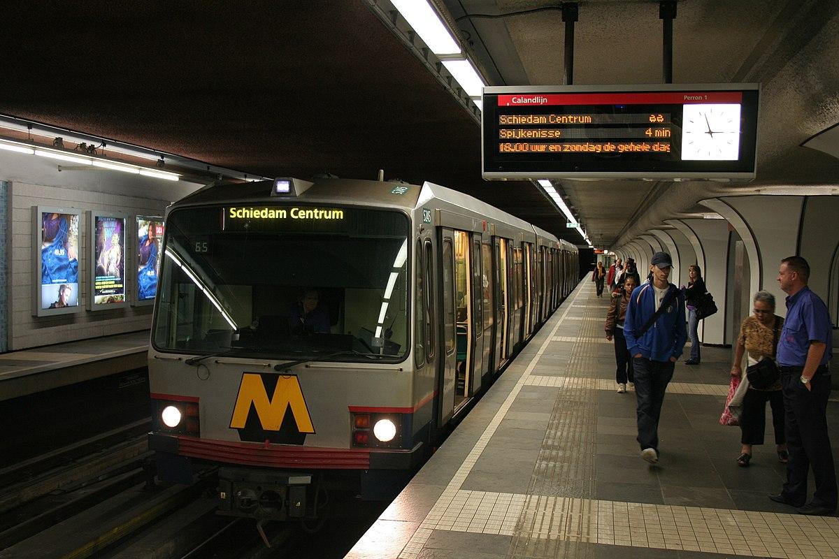 Marconiplein metro station - Wikipedia