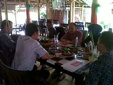 Initial coordination meeting with Gajah Mada University