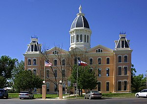 Marfa, Texas - Presidio County Courthouse in Marfa