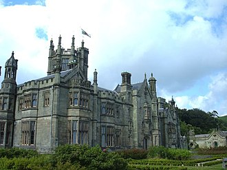 Port Talbot - Margam Castle, not far from Margam Abbey