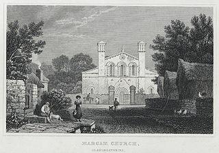 Margam church, Glamorganshire