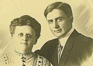 Margaret J. Anderson - Margaret J. Anderson and son Stanley