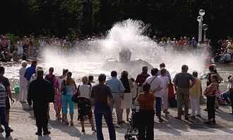 Mariánské Lázně - The Singing Fountain