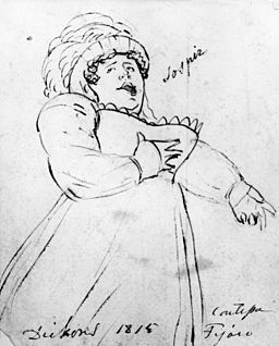 Maria Dickons born Poole opera singer