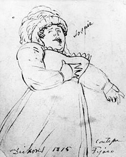 Maria Dickons British opera singer  (c.1774–1833)