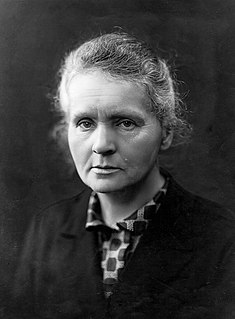 Marie Curie Polish-French physicist and chemist