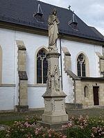 Marienfigur,Appelhülsen,Kirchplatz,A52