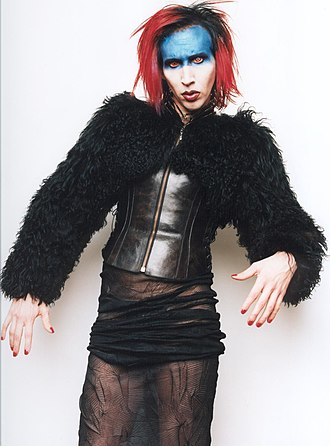 "Marilyn Manson - Manson as Mechanical Animals antagonist/character ""Omega"""