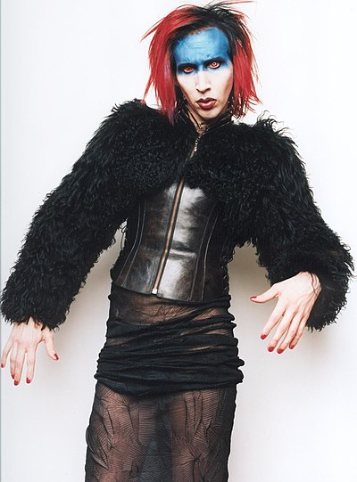 "Manson as Mechanical Animals' antagonist, ""Omega"" Marilyn Manson - Omega.jpg"
