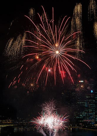 Chinese New Year - Fireworks are a classic element of Chinese New Year celebrations