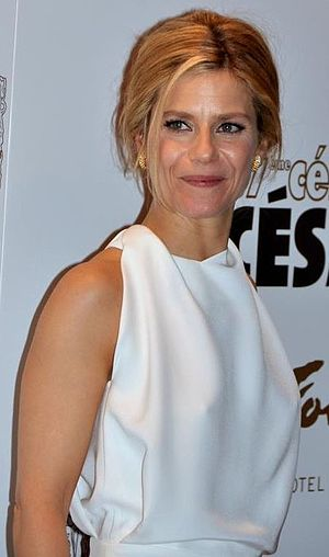 Marina Foïs - Marina Foïs at the 37th César Awards in 2012.