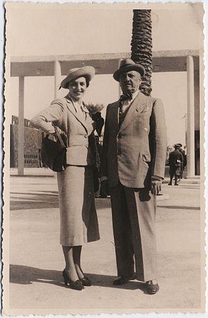 Benedetta Cappa - Benedetta and Marinetti, March 18, 1937