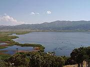 Lake Zarivar, summer 2006