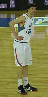 Marko Tomas Croatian basketball player